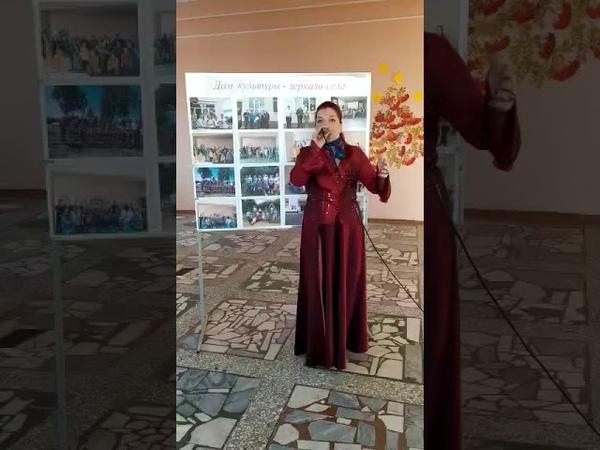 Галина Сорокина СДК с бБулычёво Иссинский район