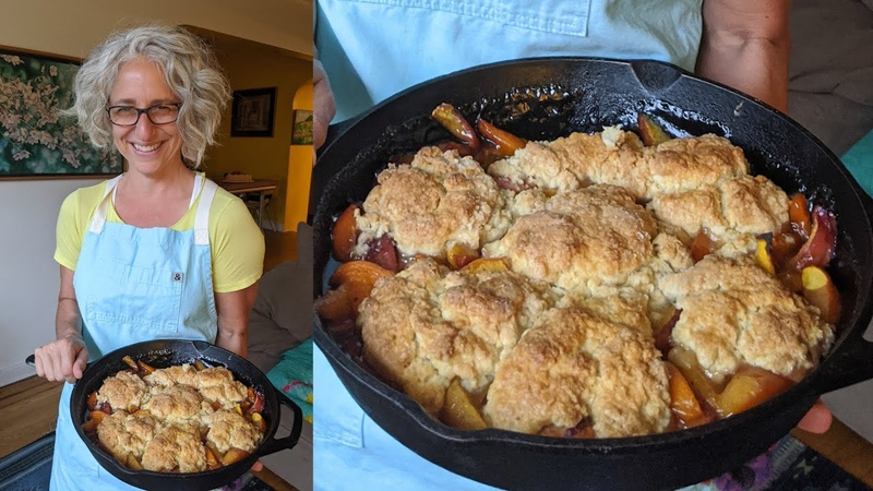 Cardamom Scented Peach Apricot Cobblers Everyday Food w Sarah Carey