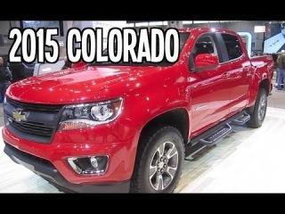 2015 CHEVROLET COLORADO All-New Pickup Truck Walk Around