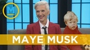 Maye Musk reveals the age she knew Elon was a special child | Your Morning