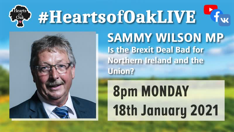 The Rt Hon Sammy Wilson MP joins us to ask if the Brexit Deal is damaging to Northern Ireland and the Union