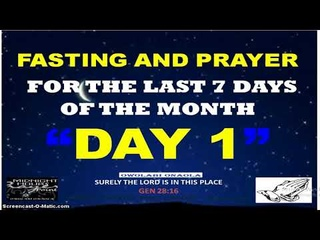 Day One - Fasting and Prayer - Foundational Battle and Problem - Owolabi Onaola