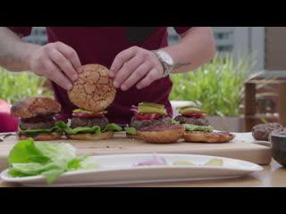 Гамбургеры с домашним кетчупом