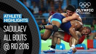 Abdulrashid Sadulaev 🇷🇺 - Olympic Champion at Age 20! | Athlete Highlights
