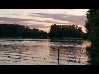 Летний вечер на Малаховском озере. Малаховка Люберецкий округ
