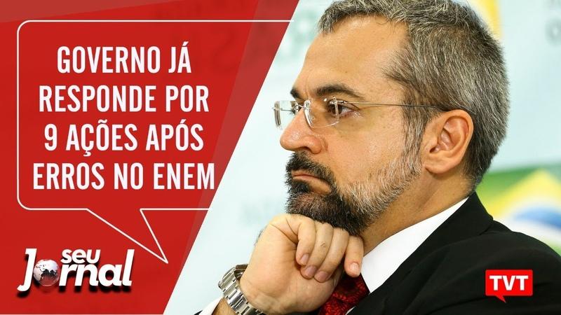 🔴Governo já responde por 9 ações após erros no Enem – Denúncia contra Ricardo Salles -SJ 23.01.20