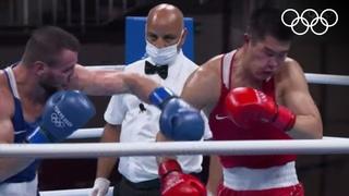 Хатаев победил сильнейшего боксёра и вышел в четвертьфинал олимпийского турнира