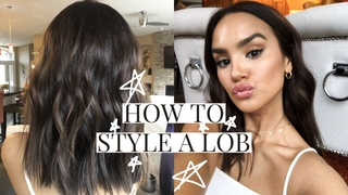 HOW TO STYLE A LOB!   DACEY CASH