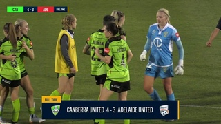 Westfield W-League 2020/21: Round 1 - Canberra United Women v Adelaide United Women 2nd Half