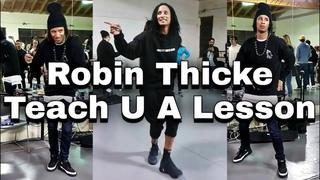 [Les Twins] ▶Robin Thicke - Teach U A Lesson◀ [Clear Audio]