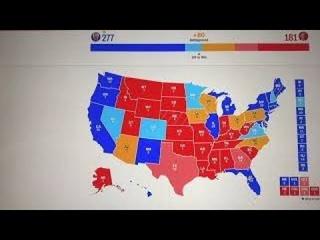 "Новости о выборах в США: Electoral College and status in the ""Battleground States"" on July 11, 2020."