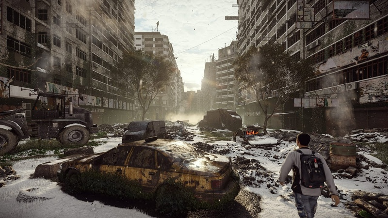 Final project Inspired by Tom Clancy's The Division Render with Lumion 10 pro