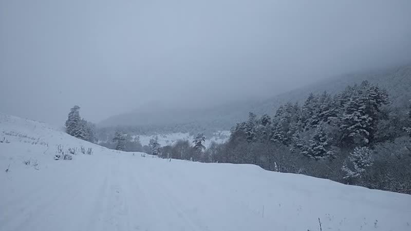 Аксаут зима