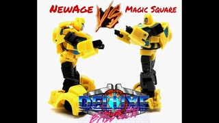 Doing Another VS Thing with Legends Class Magic Square VS NewAge Toys Bumblebee...