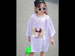 Топы для подростков футболка с блестками модная летняя принцессы девочек детские хлопковые футболки