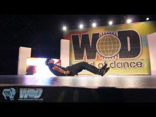 Robert Muraine Mr Fantastic @ World Of Dance San Diego 2010 (YAK Films Footage)