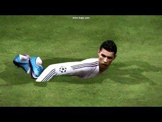 нереальный финт от Криштиано Роналдо!:D(FIFA 2011)