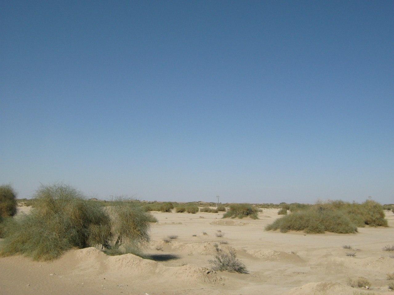 Типичные пейзажи для юго-западного Ирана