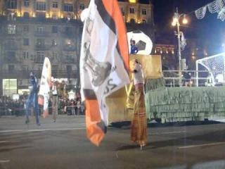 Майданs: Донецк- Николаев (подготовка и парады)