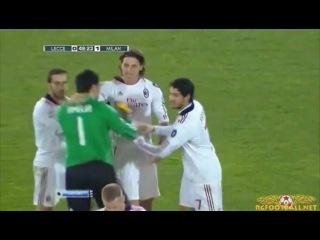 Златан Ибрагимович забивает чудо-гол