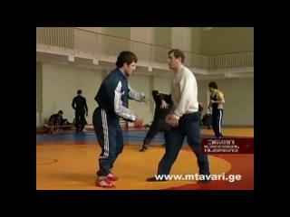 Greka-rimskaia borba..gruzina...evroba..olimpiada 2008...manuchar kvirkvelia