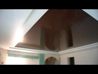 натяж потолок трёхуровневый