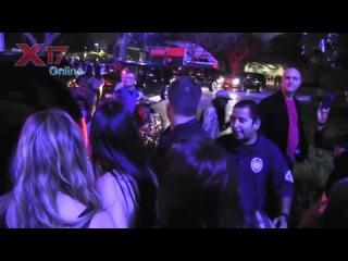 Кендалл на концерте Рианны в ЛА (8 апреля 2013)