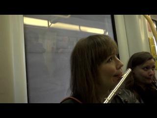 [ * ] flash mob in the copenhagen metro. copenhagen phil playing peer gynt.