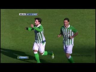 Беньят видео гол. Бетис - Мальорка. Чемпионат Испании по футболу 17 тур.