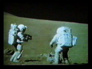 Apollo 16 TV - Geology Station 9 - The Great Sneak (T+148:17:10)