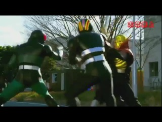 Хейсей Райдеры Против Шова Райдеров Война райдеров При участии Супер Сэнтай Heisei Rider vs Showa Rider Kamen Rider Taisen feat Super Sentai Озвучька Зи =Z=