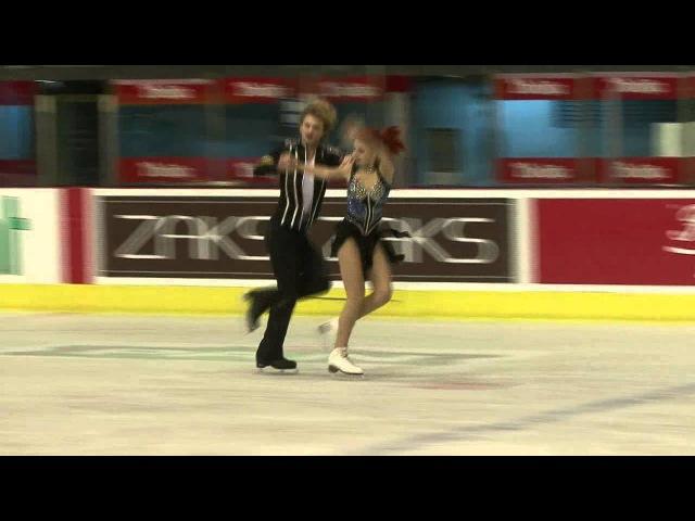 17 E KOSIGINA N MOROSHKIN RUS ISU JGP Croatia Cup 2012 Junior Ice Dance Free Dance