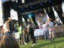 Виступ конкурсантів на фестивалі Тарас Бульба