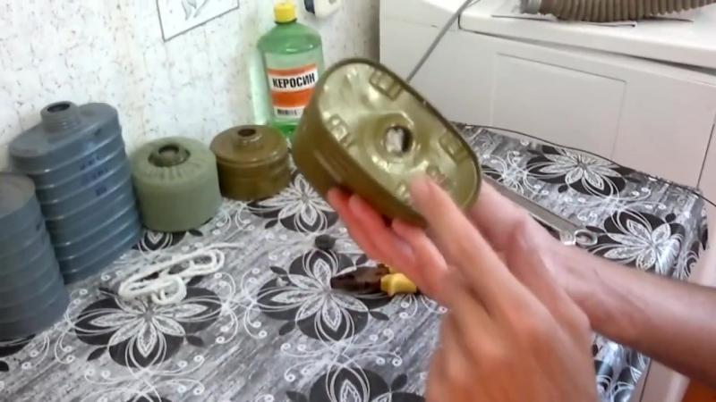 Лайфхак с противогазом или как сделать походную горелку для выживания