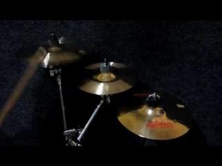 """Zildjian K Custom Hybrid (9"""", 11"""") Splashes & FX Oriental """"Trash"""" Splash"""