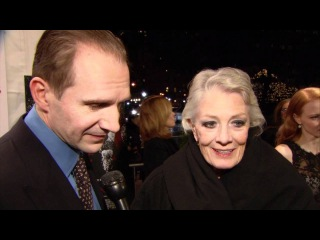Coriolanus: New York Premiere Ralph Fiennes and Vanessa Redgrave Interview
