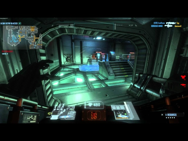 NS2HD B217 Pub Play with the Exosuit Natural Selection 2 Beta
