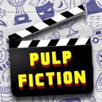Логотип Pulp fiction | барная викторина