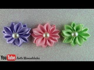Flor Margarita Grande Paso a Paso | Anita Manualidades