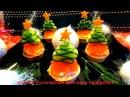 5 Вкусных закусок на НОВЫЙ ГОД Праздничные рецепты Как красиво оформить стол