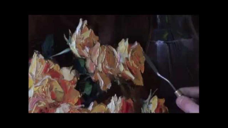 Видеоуроки Игоря Сахарова Желтые розы