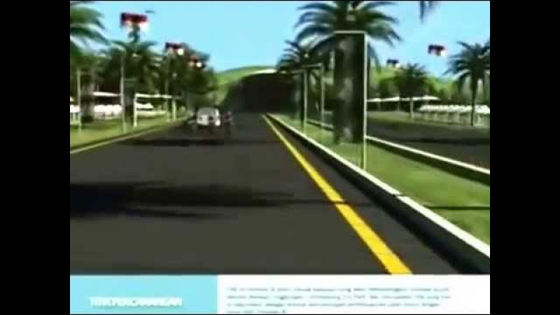 Rancangan Tol Poros Tengah Timur