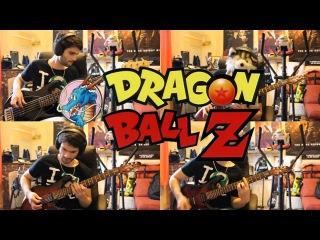 Dragon Ball Z Buu's Fury goes Rock - Main Theme (Goku SSJ3 Remix)