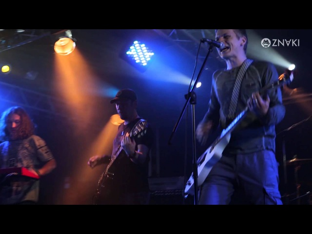 ZNAKI 11 Один человек Live Концерт в клубе Зал Ожидания 5 09 2014