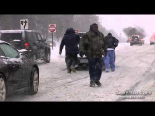 Snow Storm, Greensboro & Winston-Salem NC Feb 12-13 2014