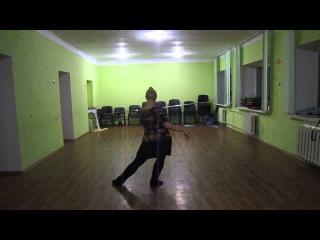 Darina Konstantinova, Tango oriental. Choreography by Shahdana