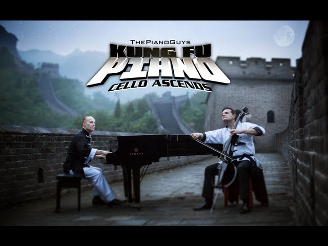 Kung Fu Piano Cello Ascends The Piano Guys Wonder of The World 1 of 7