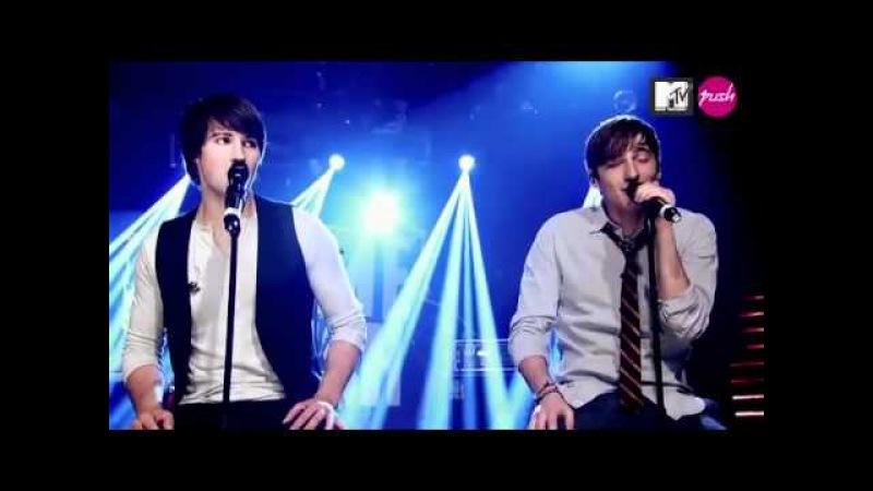 Big Time Rush Boyfriend live MTV Push Acoustic