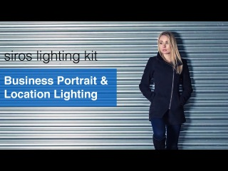 Business Portrait & Location Lighting - Broncolor Siros Lighting Kit Review.
