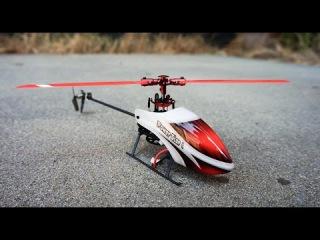WLtoys V977 Power Star X1 RTF Helicopter - Lots of piros!